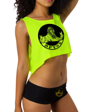 Crop Top Yellow