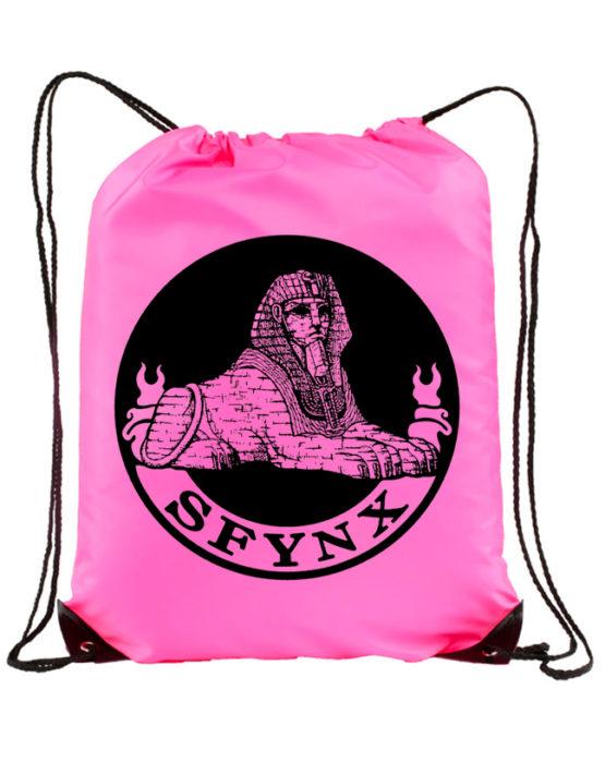 Logo Drawstring_Neon Pink