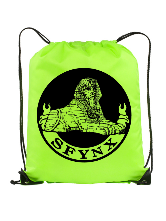 Logo Drawstring_Neon Yellow