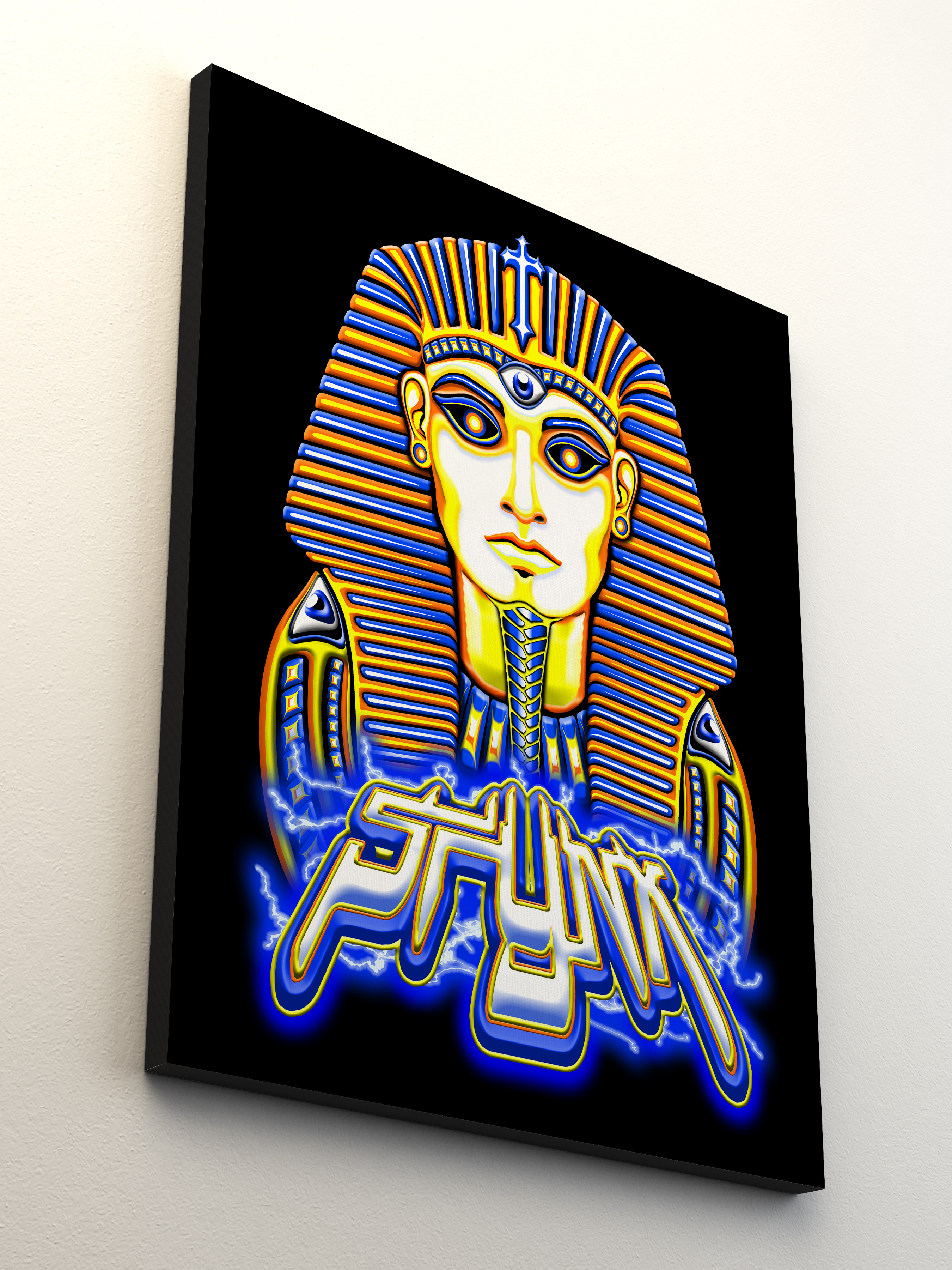 Pharaoh Electro Canvas